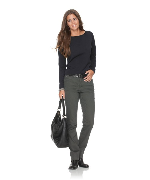 Brax Trousers Carola Moss Green