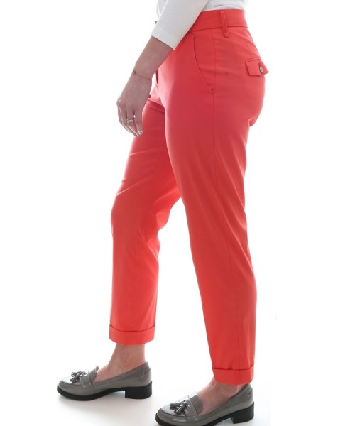 Brax Mara 7/8 Summer Trousers Red