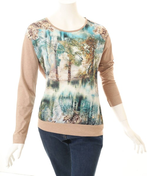 Brax Top Clarissa Tree Print