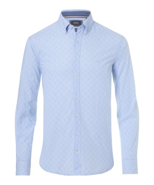 Brax Darcy Stretch Print Shirt Blue