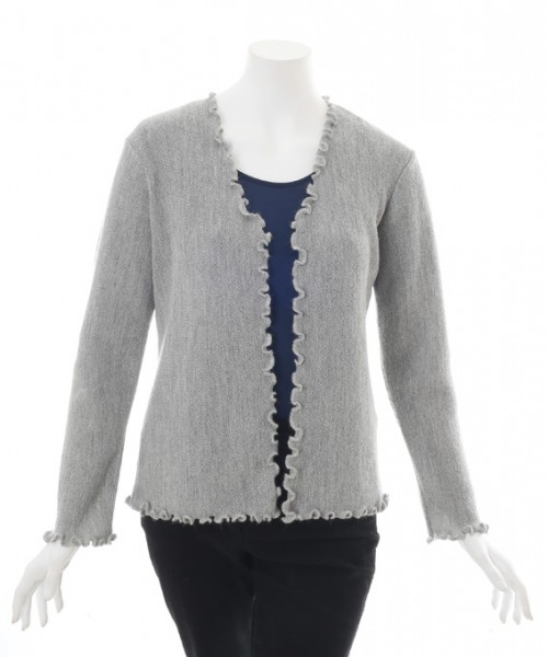 The Alpaca Collection Cardigan Georgia Silver