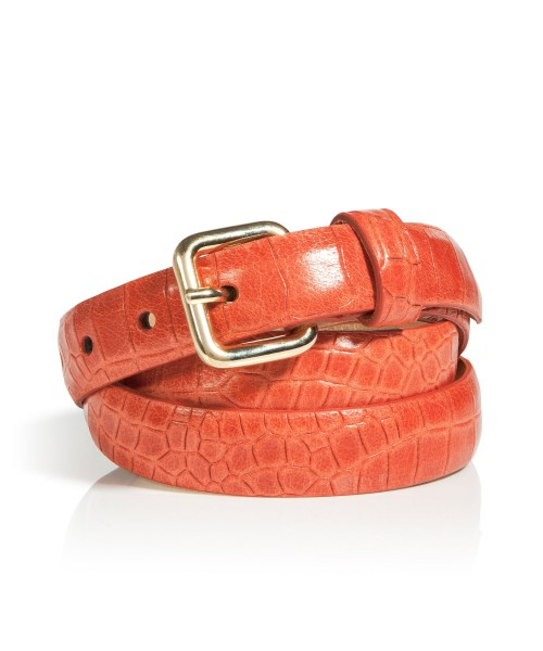 Brax Croc Look Leather Belt