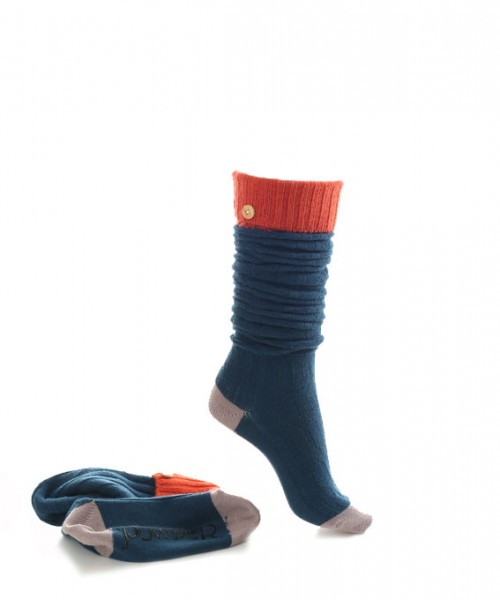 Powder Long Rugby Socks Teal