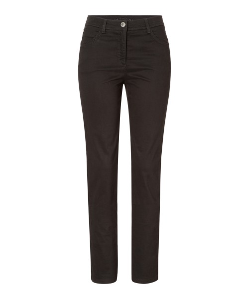 Brax Mary Trousers Slim Straight Leg Black