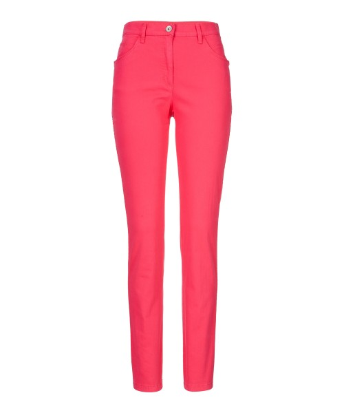 Brax Mary Trend Slim Leg Jeans Hot Pink