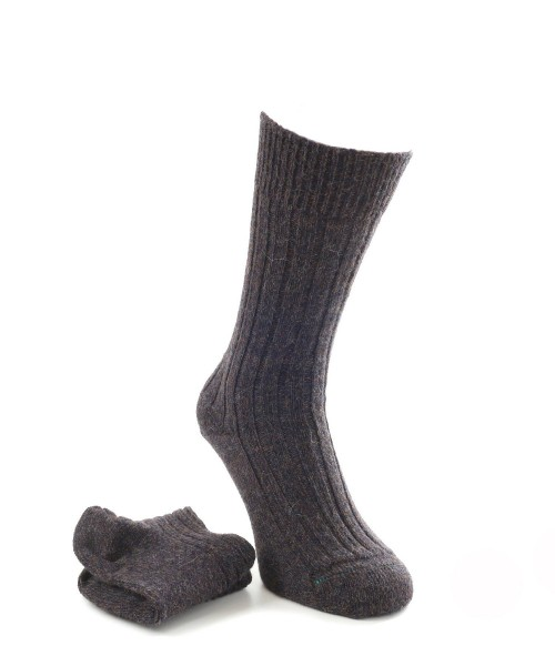 House of Cheviot Mens Alpaca Socks Navy Mix