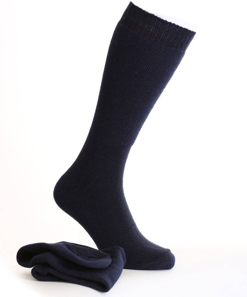 alpaca walking socks navy