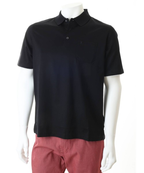 Brax Paul Polo T-shirt Black