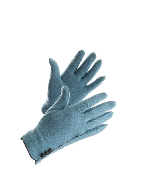 Powder Marlene Gloves Wool Blue