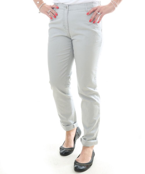 Brax Rhonda Sport 7/8 Length Chinos Grey