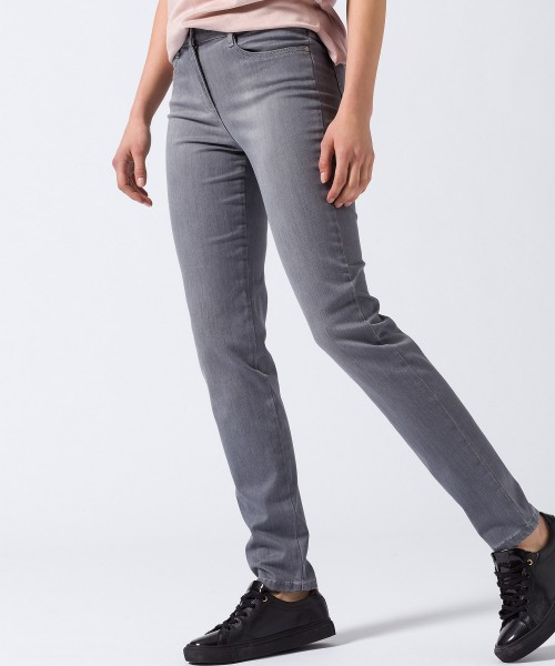 Brax Shakira Skinny Jeans Used Light Grey