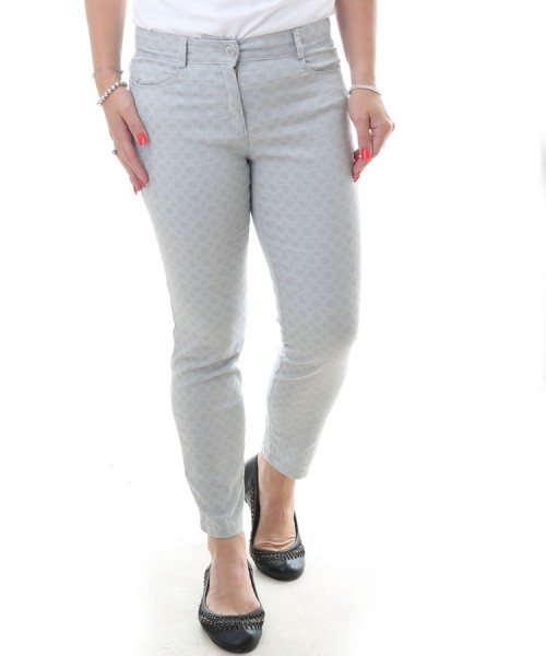 Brax Shakira Super Slim 7/8 Length Jeans Grey Print