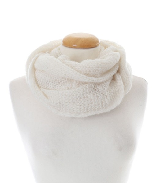 Baby Alpaca Cream Snood