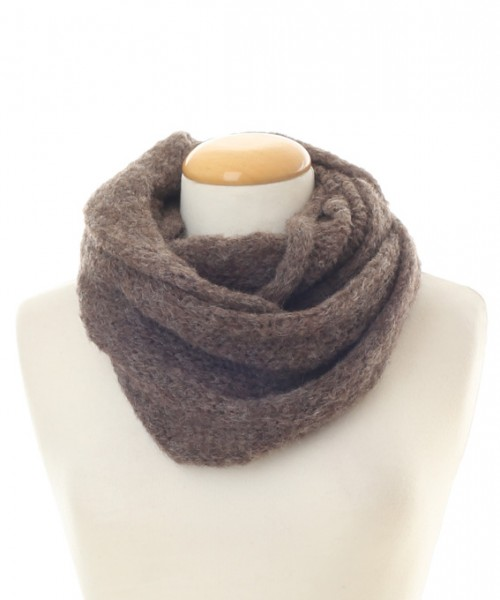 Baby Alpaca Snood Mink