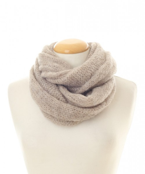 Baby Alpaca Snood Oatmeal