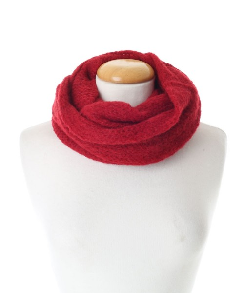 Baby Alpaca Red Snood