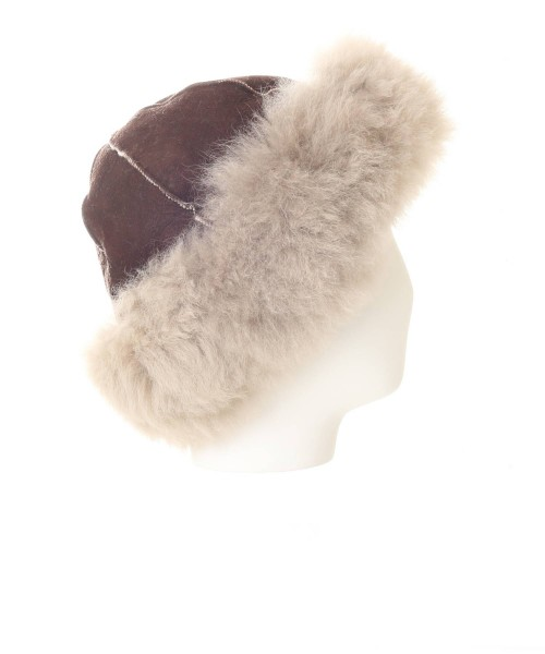 Alpaca Hat Suede Top Mink