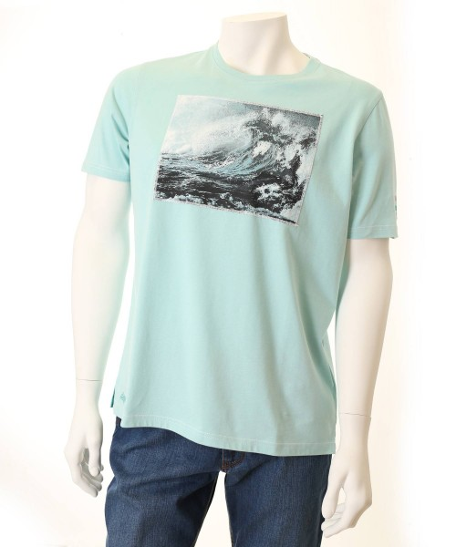 Brax T-Shirt Taylor Mint Wave