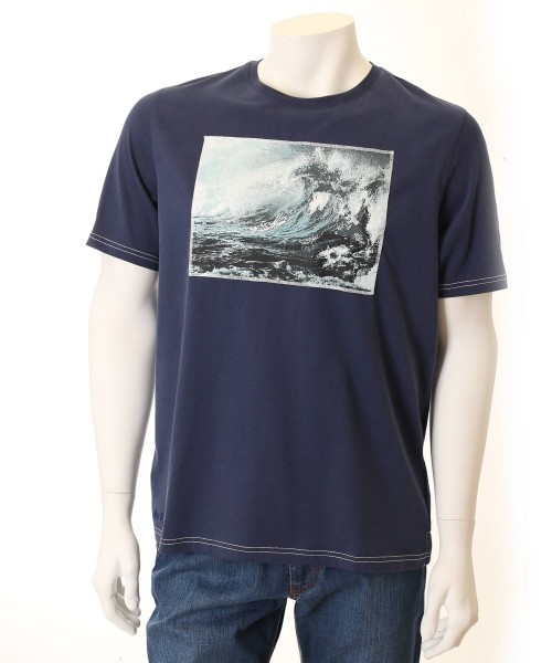 Brax T-Shirt Taylor Navy Wave