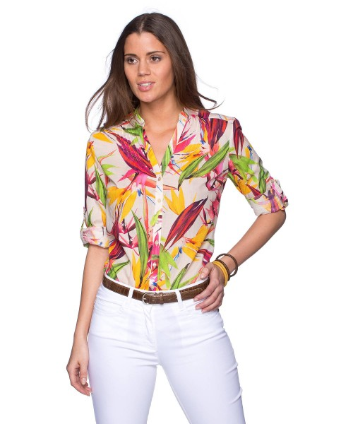 Brax Vaida Blouse Papaya