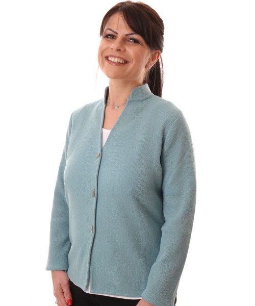 Artisan Route Valeria Cardigan Colour Seagrass