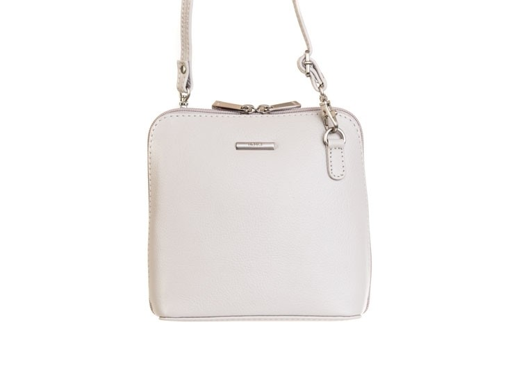 a1f34b88f33d Nova 820 Small Leather Cross Body Handbag Dove Grey in Nova Leather ...