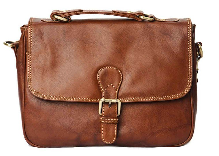 Nova Leather Satchel Handbag Tan Style - 934 in Nova Leather ...