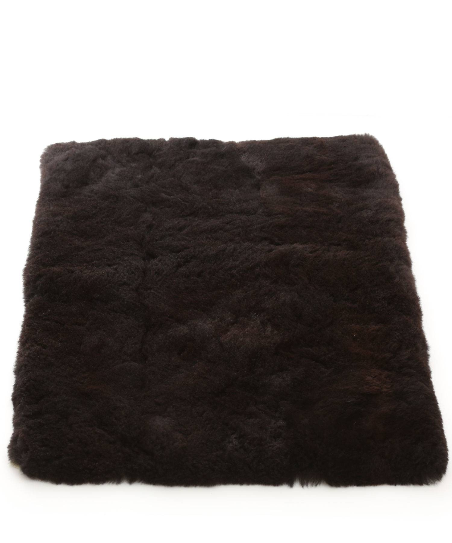 Alpaca Fur Rug Black In Alpaca Clothing Co Range