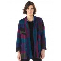 Millma by Artisan Route Interlude Alpaca Jacket Berry