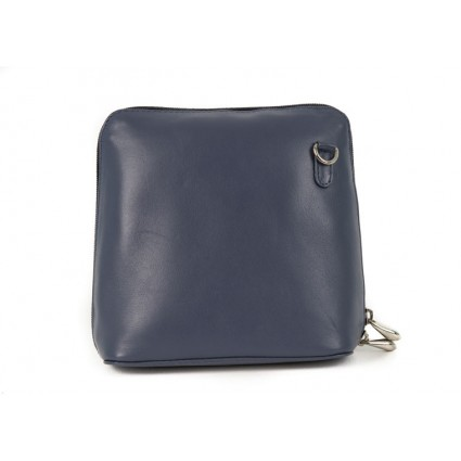 Nova 820 Leather Small Cross Body Handbag Navy