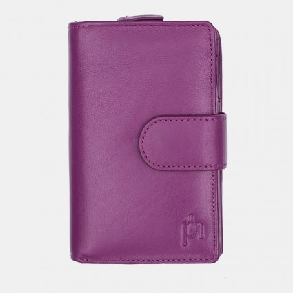 Primehide Leather Purse Fuchsia 22808