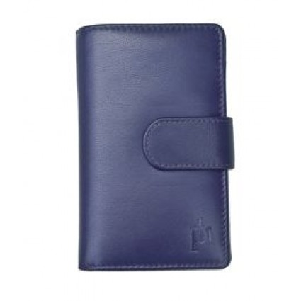 Primehide Leather Purse Navy 22808