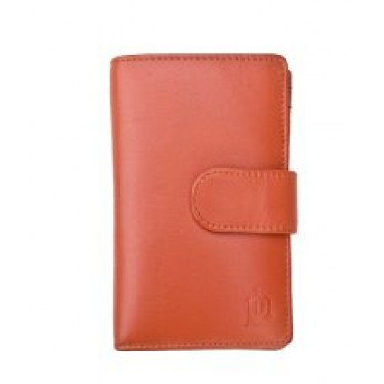 Primehide Leather Purse Orange 22808