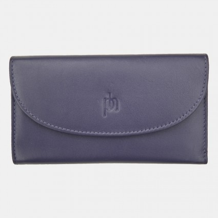 Primehide Leather Purse Windermere Purple 22832
