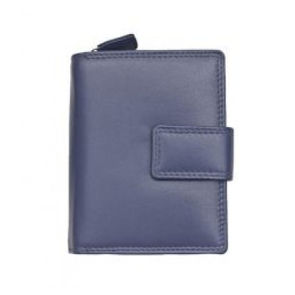 Primehide Leather Purse Navy 2311