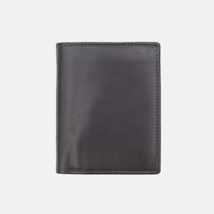 Primehide Leather Compact Wallet Brown 5003