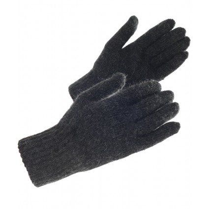 Alpaca Gloves Charcoal