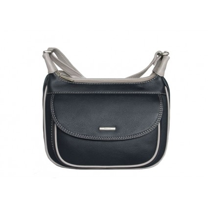 Nova Leather Handbag Navy Dove 8112