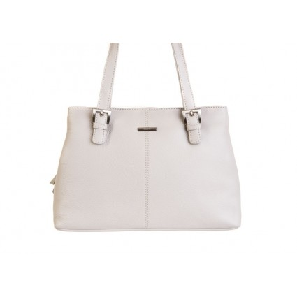 Nova 816 Leather Shoulder Handbag Dove