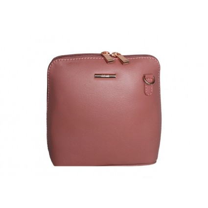 Nova Leather Crossbody Bag Dusky Pink 820