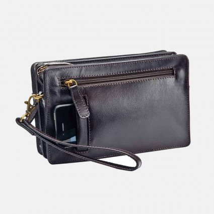 Primehide Leather Travel Bag Brown