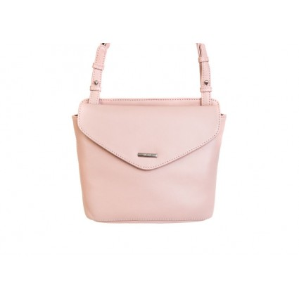 Nova 839 Leather Petite Cross Body Bag Pink