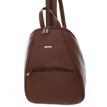 Nova 873 Leather Backpack Chestnut