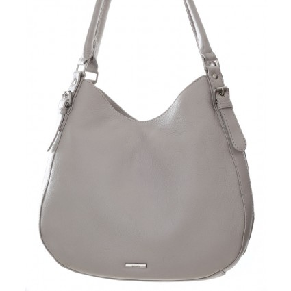 Nova 875 Leather Shoulder Handbag Dove