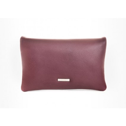 Nova 878 Leather Petite Cross Body Bag Burgundy