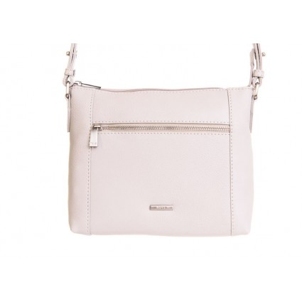 Nova 882 Leather Cross Body Handbag Ivory