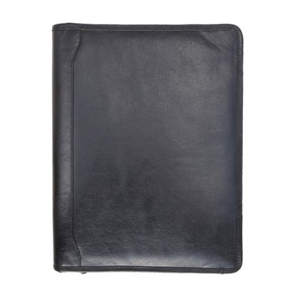 Primehide Zip Around Folder Black 890