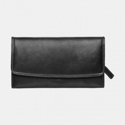 Primehide Italian Leather Purse Black 9001