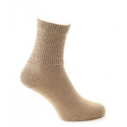 Alpaca & Wool Plain Socks
