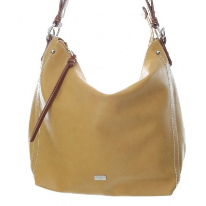 David Jones Slouch Shoulder Bag Mustard Yellow